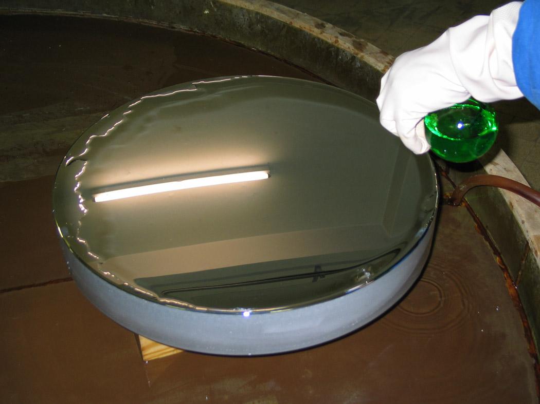 Prparation du miroir cassegrain du 1m93 for Miroir hyperbolique