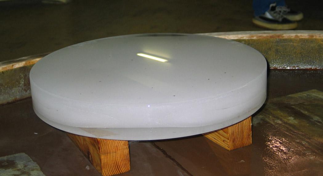 aluminure du miroir de 1m93
