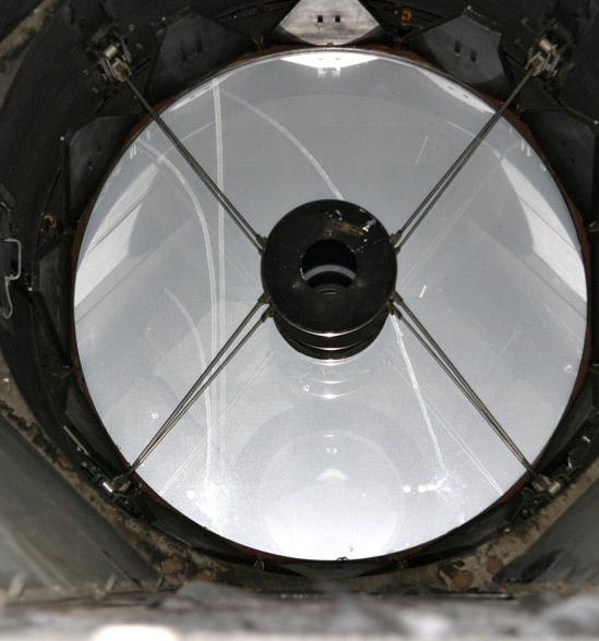 Aluminure du miroir de 1m93 for Miroir cassegrain