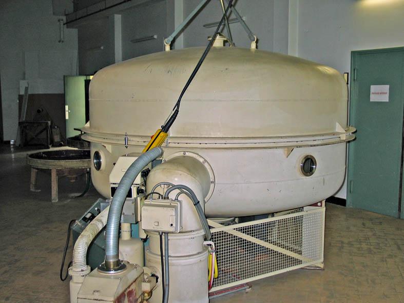 Aluminure du miroir de 1m93 for Miroir pour telescope